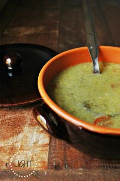 ZUPPA DI BROCCOLI LIGHT - aka time to use the broccoli in my fridge
