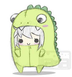 Resultado de imagen de kawaii dinosaur tumblr