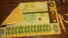 Blanket that went in the diaper cake.