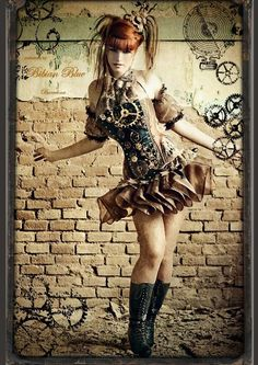 steampunk coutur etsy - Google Search