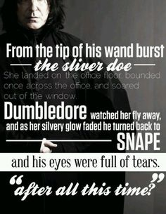 In the wise words of Harry Potter <3