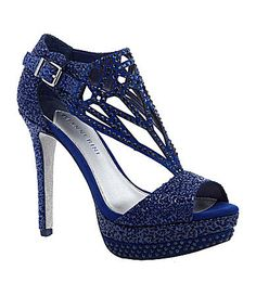 Gianni Bini Diamond Platform Sandals - these are my birthday shoes for this year! Cute Sandals, Cute Shoes, Me Too Shoes, Shoes Heels Boots, Heeled Boots, Gianni Bini Shoes, All About Shoes, Blue Heels, Kinds Of Shoes