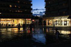 Lido di Jesolo, Piazza Mazzini @ night