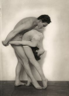 The dancers Berinoff and Angelina,1920's.