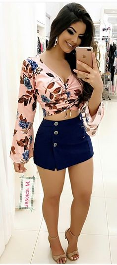 Like the skirt - Mega ❤️ sexy ❤️Outfit - Roupas Skirt Outfits, Sexy Outfits, Sexy Dresses, Stylish Outfits, Summer Outfits, Fashion Outfits, Autumn Outfits, Girl Fashion, Womens Fashion