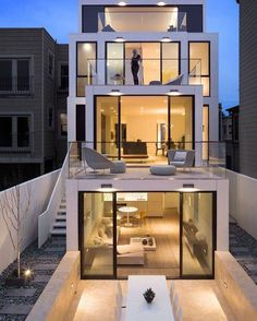 Modern house designs in terms of both exterior design and architecture are very much stylish and mak Architecture Design, House Architecture Styles, Amazing Architecture, Contemporary Architecture, Minimal Architecture, Tropical Architecture, Architecture Interiors, Residential Architecture, Casas Containers
