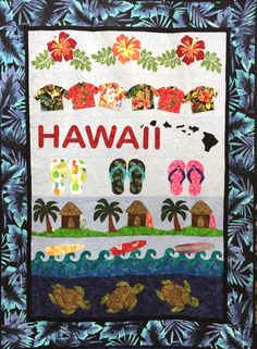 Hawaii Rows Quilt Pattern