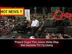 """Pak Jokowi M4rah !! Banyak Prajurit TNI Tew4s """" Stop Beli Alutsista TNI ..."""