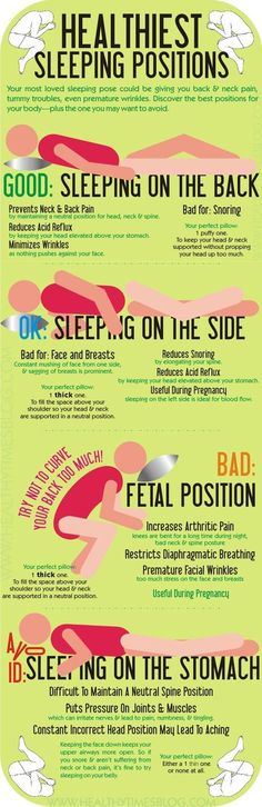 Stop Snoring Remedies-Tips - These are the healthiest and unhealthiest ways to sleep. - The Easy, 3 Minutes Exercises That Completely Cured My Horrendous Snoring And Sleep Apnea And Have Since Helped Thousands Of People – The Very First Night! Healthy Sleeping Positions, Best Sleep Positions, Position Pour Dormir, Forme Fitness, Sleeping Pose, Sleeping Facts, Ways To Sleep, How To Sleep, Sleep Well