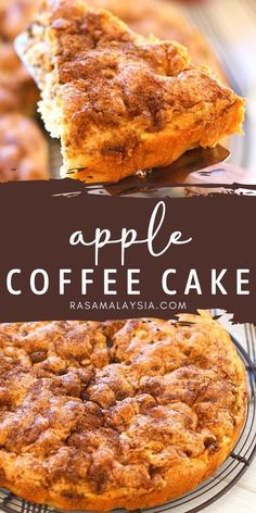 Sweet Desserts, Delicious Desserts, Cake Recipes, Dessert Recipes, Apple Coffee Cakes, Best Sweets, Ice Cream Recipes, Dessert Bars, Recipe Of The Day