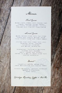 Perfect combination of handwritten and typewriter fonts.  Obsessed with this...