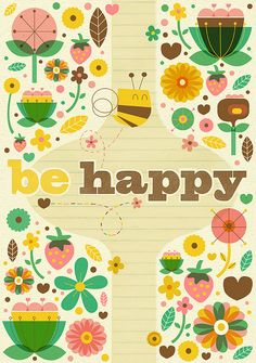 Be Happy by: Steph Baxter (stephsayshello.co.uk)