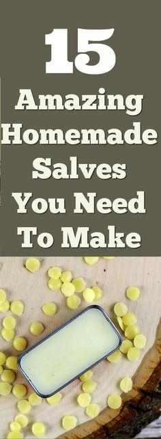 15 Amazing Homemade Salve Recipes - Everything Pretty
