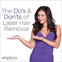 What to do and not to do for laser hair removal treatments