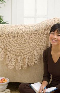 Lacy Accent Doily Crochet Pattern...free pattern!