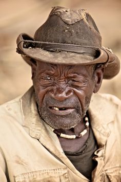 Namibian Old Man by Gergő Antal, via 500px