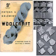 Patons & Baldwins' Woolcraft 13th Edition - 1940's