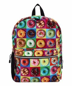Mojo has done it again. Satisfy your sweet tooth and feed off some good vibes with our Doughnut Backpack.