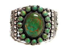 Royston Turquois--love the green and orange