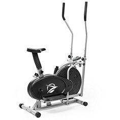 Plasma Fit Elliptical Machine Trainer 2 in 1 Exercise Bike Cardio Fitness Home Gym Workout Equipment *** More info could be found at the image url.