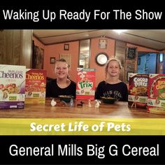 General Mills Big G Cereal and Secret Life of Pets Collectibles  #BigGPets @PetsMovie #sponsored