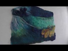 Heather Potten Feltmaker - video of felt exhibition Felt Art, Felting, Wool Felt, Creative, Artwork, Painting, Design, Work Of Art, Felt Fabric