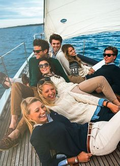 Classy Girls Wear Pearls: Sail AwayYou can find Prep life and more on our website.Classy Girls Wear Pearls: Sail Away Adrette Outfits, Casual Chic Outfits, Summer Outfits, Fashion Outfits, Segel Outfit, Preppy Style, My Style, Estilo Preppy, Ivy League Style