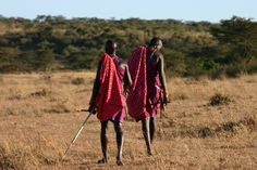 Kenyan:  A magical vacation with great experiences with the people and animals.  Bought a spear from some young men much like these. http://urbanpeek.com/wp-content/gallery/kenya/kenya-5.jpg