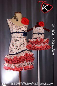 TRAJES DE FLAMENCA KIKA: Trajes Coral, African Fashion, Peplum Dress, Summer Dresses, Templates, Beige Background, Baby Tuxedo, African Style, Summer Sundresses