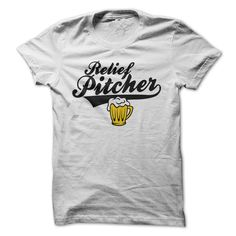 Relief PitcherLove baseball? Then youll love this shirt!  Get it today before its gone :-)craft beer, beer, alcohol, drinking, baseball, pitching