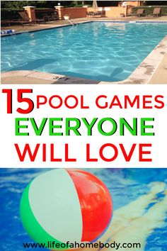 This is a great list of fun pool games for kids and adults. This is must pin for pool parties and swimming fun! This is a great list of fun pool games for kids and adults. This is must pin for pool parties and swimming fun! Swimming Pool Games, Pool Party Games, Outdoor Party Games, Kid Pool, Pool Fun, Pool Games Kids, Swimming Coach, Outdoor Fun, Pool Activities