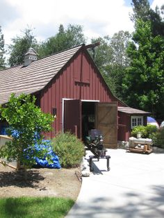 Walt Disney's Barn in Griffith Park, Los Angeles, is considered the birthplace of Imagineering.