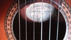 Handgemachte Klassikgitarre, mein Lieblingsinstrument seit 1981, nicht nur für Klassik .-)
