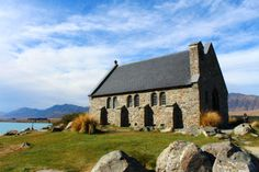 Church of the Good Shepherd, Lake Tekapo - 3 hours from Queenstown