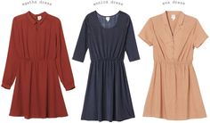 eva dress is my favourite of the three.