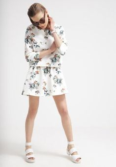 Minimum - Minifalda - broken white #zalando #kissmylook
