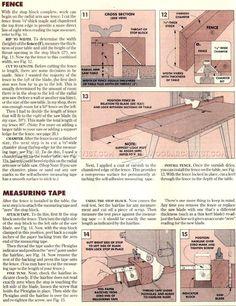 #1084 Miter Saw Stop Block - Marking and Measuring Miter Saw