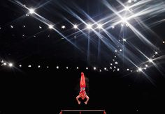 Brinn Bevan of Great Britain competes in the High Bar during day three of the…