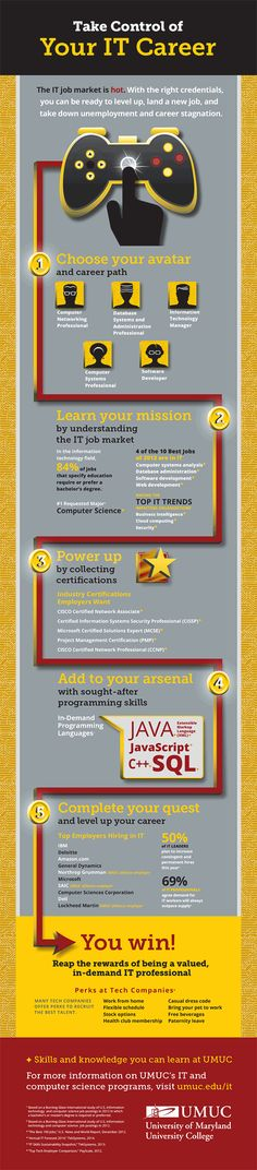 Information Technology Careers Infographic | UMUC