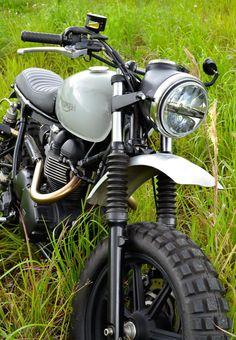 Triumph Scrambler Motorcycle 7