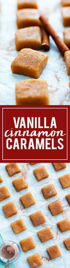 Vanilla Cinnamon Caramels | Creme de la Crumb