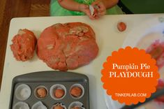 """One reviewer says, """"This is by far the best home made play dough recipe I have tried. The first time we made it as demonstrated above (pumpkin pie version) and this morning we made blue and green play dough. Thanks for sharing the recipe!"""""""