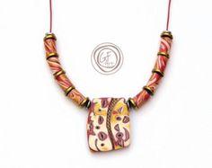 Metal wire work necklace pendant. Elegant gift for от GFArtStore