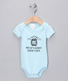World's Cutest Alarm Clock Bodysuit by Pluto