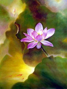 Water Lilies Painting, Lotus Painting, Flower Painting Canvas, Lotus Drawing, Lotus Art, Watercolor Lotus, Watercolor Flowers, Beautiful Flower Quotes, Beautiful Flowers