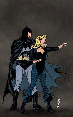 Batman & Black Canary by Paul Smith & Gerry Turnbull