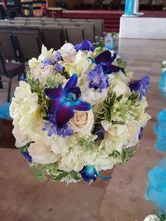 #roses #lilies #bridalbouquet