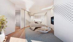 Zaha Hadid projektuje niezwykłe wnętrza dla Opus Office Tower w Dubaju | Dom-wnetrze