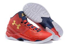 save off 3c030 e1d76 1914   Under Armour Stephen Curry 2 Herr Navy Gul Röd SE269782fNNMcO Red  Basketball Shoes,