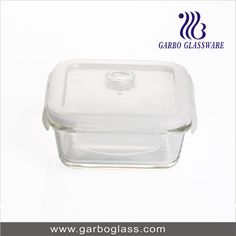 glass food bowl , glass lunch box, glass food canister